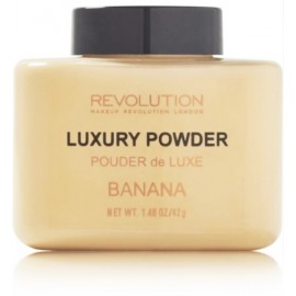 Makeup Revolution Luxury Banana Powder matizuojanti biri pudra 42 g.