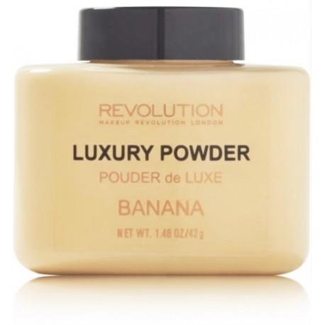 Makeup Revolution Luxury Banana Powder matizuojanti biri pudra 42 g.