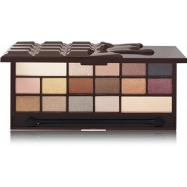 Makeup Revolution I Love Makeup Palette Death By Chocolate šešėlių paletė 22 g.