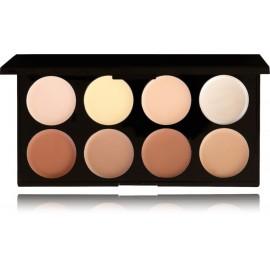 Makeup Revolution Makeup Revolution Ultra Cream Contour kreminė veido modeliavimo paletė 13 g.