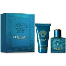 Versace Eros rinkinys vyrams (30 ml. EDT + 50 ml. dušo gelis)