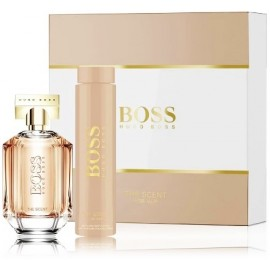 Hugo Boss The Scent for Her rinkinys moterims (100 ml. EDP + losjonas)