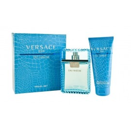 Versace Man Eau Fraiche rinkinys vyrams ( 100 ml. EDT + 100 ml. dušo gelis)