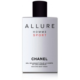 Chanel Allure Homme Sport dušo gelis vyrams 200 ml.