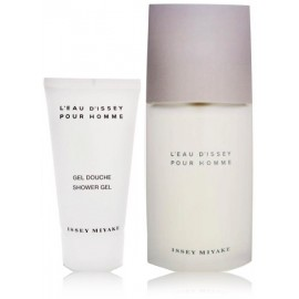 ISSEY MIYAKE L´Eau D´Issey pour Homme rinkinys vyrams (75 ml. EDT + 75 ml. dušo gelis)