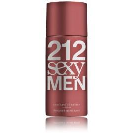 Carolina Herrera 212 Sexy Men purškiamas dezodorantas vyrams 150 ml.
