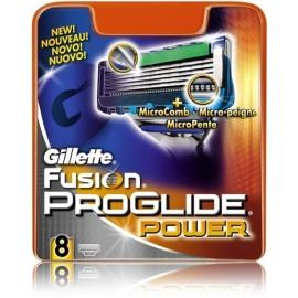 Gillette Fusion ProGlide Power skustuvo galvutės