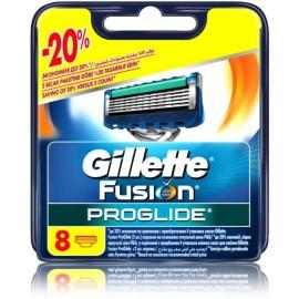 Gillette Fusion Proglide skustuvo galvutės 8 vnt.
