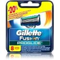 Gillette Fusion Proglide skustuvo galvutės