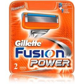 Gillette Fusion Power skustuvo galvutės 2 vnt.