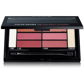 Maybelline Color Drama Lip Contour Palette lūpų dažų paletė 1 Blushe