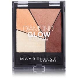 Maybelline Diamond Glow akių šešėlių paletė 02 Coral Drama