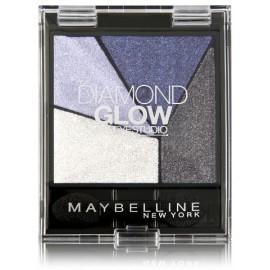 Maybelline Diamond Glow akių šešėlių paletė 03 Blue Drama
