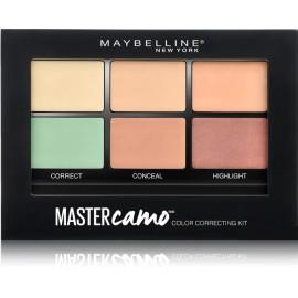 Maybelline Facestudio Master Camo maskuojamųjų priemonių paletė 01 Light