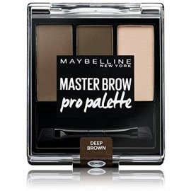 Maybelline Master Brow Pro Palette rinkinys antakių paletė Deep Brown