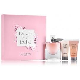 Lancome La Vie Est Belle rinkinys moterims (75 ml. EDP + 50 ml. kūno losjonas + 50 ml. dušo gelis)