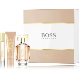 Hugo Boss The Scent for Her rinkinys moterims (50 ml. EDP + losjonas + 7,4 ml. EDP)
