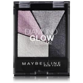 Maybelline Diamond Glow akių šešėlių paletė 04 Grey Pink Drama