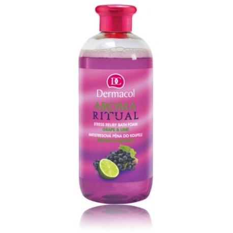 Dermacol Aroma Ritual Bath Foam Grape&Lime vonios putos 500 ml.