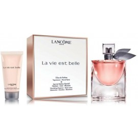 Lancome La Vie Est Belle rinkinys moterims (50 ml. EDP + 50 ml. kūno losjonas)