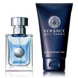 Versace pour Homme rinkinys vyrams (30ml+gelis)
