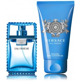 Versace Man Eau Fraiche rinkinys vyrams (30 ml. EDT + 50 ml. dušo gelis)