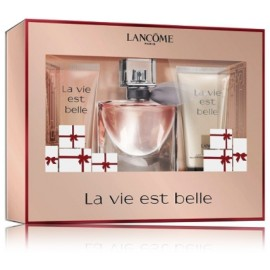 Lancome La Vie Est Belle rinkinys moterims (30 ml. EDP + 50 ml. kūno losjonas + 50 ml. dušo gelis)