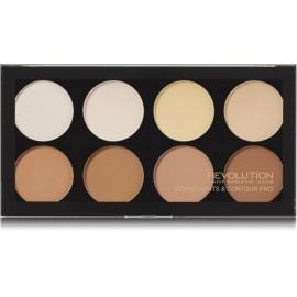 Makeup Revolution Iconic Lights&Contour Pro kontūravimo paletė