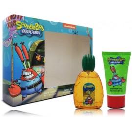 SpongeBob Squarepants Mr. Krabs rinkinys vaikams (50 ml. EDT + gelis)