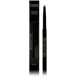 Makeup Revolution Amazing Inner Eye Brightener priemonė akių makiažui Nude 0.18g