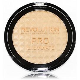 Makeup Revolution Pro Illuminate švytėjimo suteikianti pudra 15 g.