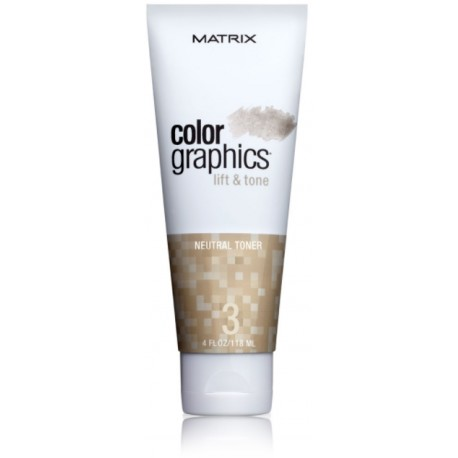 Matrix Color Graphics Lift & Tone Neutral Toner neautralaus tono tonuojamoji priemonė 118 ml.