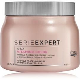 Loreal Professionnel Serie Expert Vitamino Color A-OX kaukė dažytiems plaukams 500 ml.