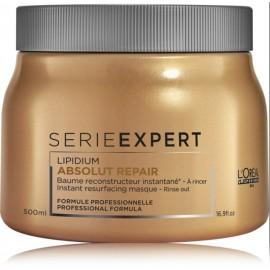 Loreal Professionnel Expert Absolut Repair Lipidium kaukė labai pažeistiems plaukams 500 ml.