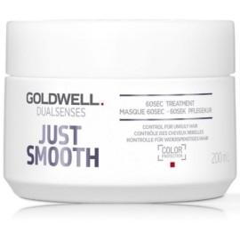 Goldwell Dualsenses Just Smooth 60 Sec greito poveikio glotninamoji priemonė/kaukė 200 ml.