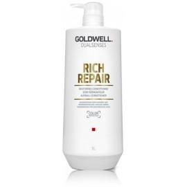 Goldwell Dualsenses Rich Repair kondicionierius sausiems ir lūžinėjantiems plaukams 1000 ml.