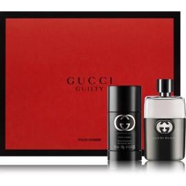 Gucci Guilty pour Homme rinkinys vyrams (50 ml. EDT + dezodorantas)