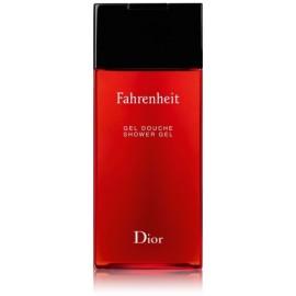 Dior Fahrenheit dušo gelis vyrams 200 ml.