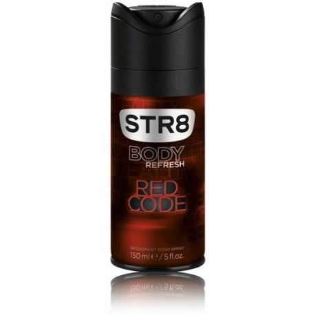 STR8 Red Code purškiamas dezodorantas vyrams 150 ml.