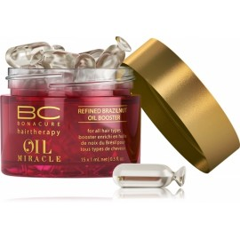 Schwarzkopf Professional BC Bonacure Oil Miracle Brazilnut Oil Booster stiprinamosios kapsulės 15x1 ml.