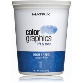 Matrix Color Graphics Lift & Tone Powder Lifter plaukų balinimo milteliai 454 g.
