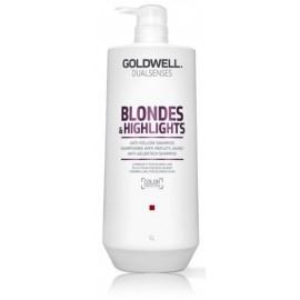 Goldwell Dualsenses Blondes Highlights šampūnas šviesiems plaukams