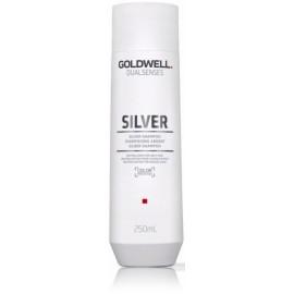 Goldwell Dualsenses Silver pilkinantis šampūnas šviesiems plaukams 250 ml.