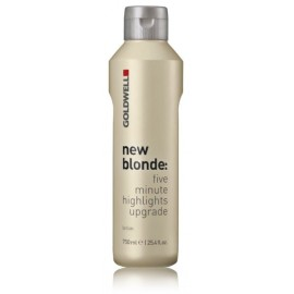 Goldwell New Blonde Five Minute Highlights Upgrade Lotion oksidacinė emulsija 750 ml.