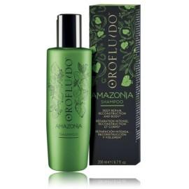 Orofluido Amazonia apimties suteikiantis atstatomasis šampūnas 200 ml.