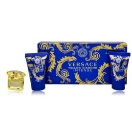 Versace Yellow Diamond Intense mini rinkinys moterims (5 ml.+losjonas+gelis)