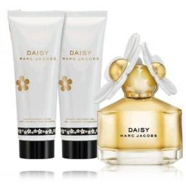 Marc Jacobs Daisy rinkinys moterims (50 ml. EDT + 75 ml. kūno losjonas + 75 ml. dušo gelis)