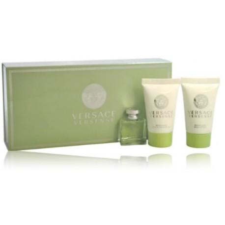 Versace Versense mini rinkinys moterims (5 ml. EDT + gelis + losjonas)