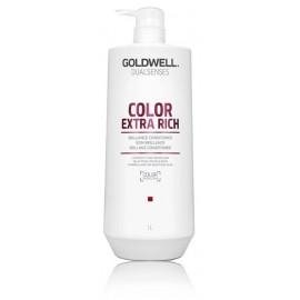 Goldwell Dualsenses Color Extra Rich kondicionierius dažytiems stipriems ir šiurkštiems plaukams 1000 ml.