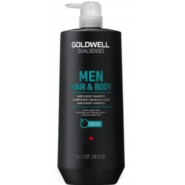 Goldwell Dualsenses For Men Hair & Body šampūnas ir dušo gelis vyrams